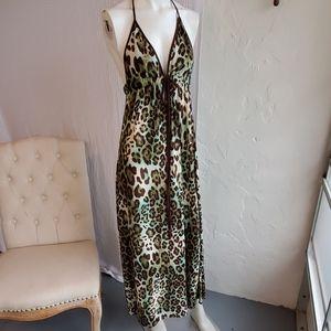 Karina Grimaldi Maxi dress leopard print